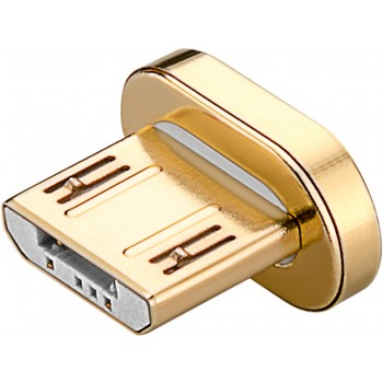 Losse Micro USB magneet connector goud